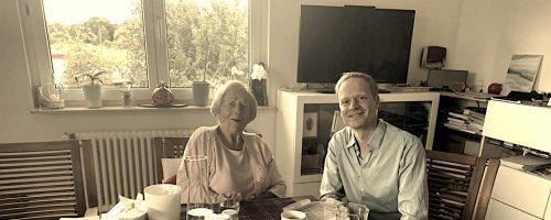 Ärmel hoch: Visionärin und Träumerin mit 95